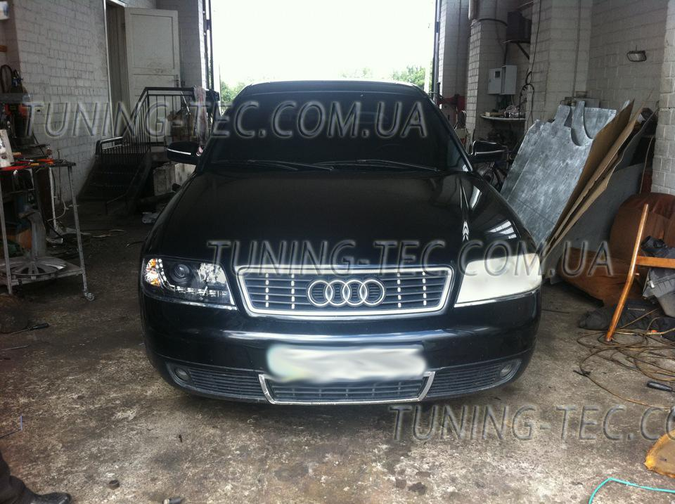 Audi a6 c5 фары светодиодные своими руками 97