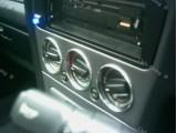 Алюминиевые рамки Кольца на ручки переключения печки Peugeot 306 (92-01), в комплекте 3 шт (полированные)...