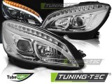 Фары MERCEDES W204 TUBE LIGHT хром LPMEB4